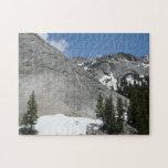 Snowy Granite Domes I at Yosemite National Park Jigsaw Puzzle