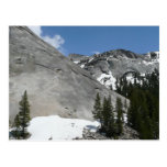 Snowy Granite Domes I at Yosemite National Park Postcard