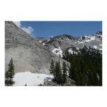 Snowy Granite Domes I at Yosemite National Park Poster