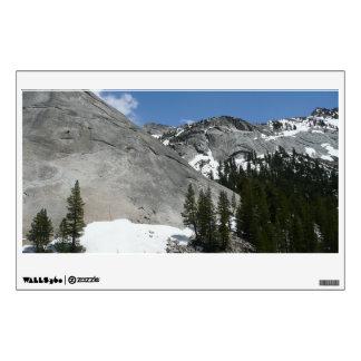 Snowy Granite Domes I at Yosemite National Park Wall Sticker