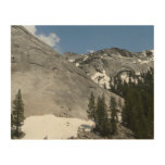 Snowy Granite Domes I at Yosemite National Park Wood Wall Decor