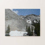Snowy Granite Domes I Yosemite National Park Jigsaw Puzzle