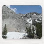 Snowy Granite Domes I Yosemite National Park Mouse Pad