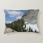 Snowy Granite Domes II Yosemite National Park Decorative Pillow