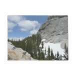 Snowy Granite Domes II Yosemite National Park Doormat