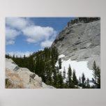 Snowy Granite Domes II Yosemite National Park Poster