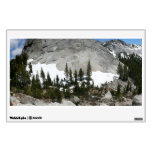 Snowy Granite Domes Panorama at Yosemite Wall Sticker