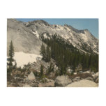 Snowy Granite Domes Panorama at Yosemite Wood Wall Decor