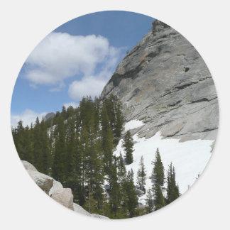 Snowy Granite Domes Sticker