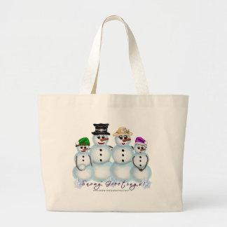 Snowy Greetings Family Bag