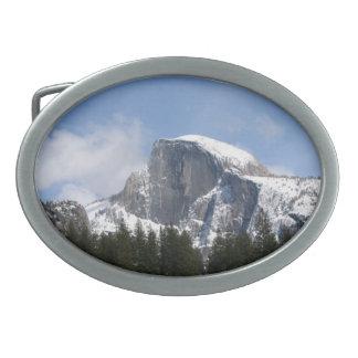 Snowy Half-Dome belt buckle