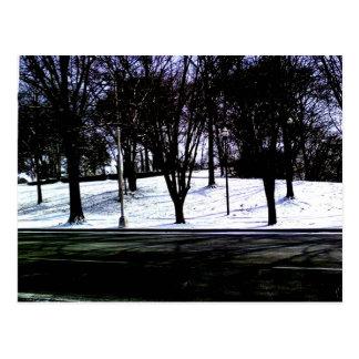 Snowy Hill Postcard