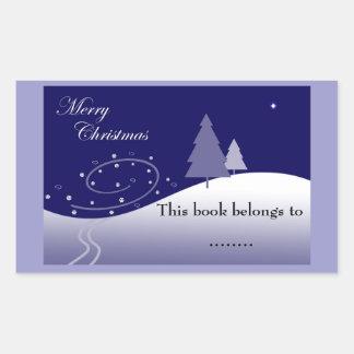 Snowy Hills bookplate