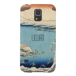 Snowy Japanese Illustration Cases For Galaxy S5