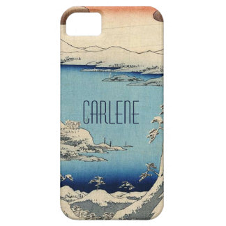 Snowy Japanese Illustration iPhone 5 Cover