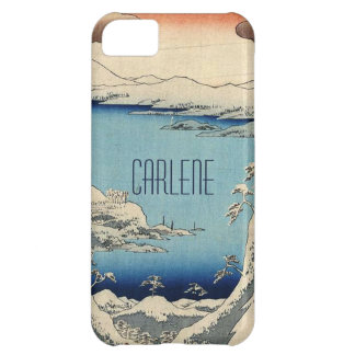 Snowy Japanese Illustration iPhone 5C Cases