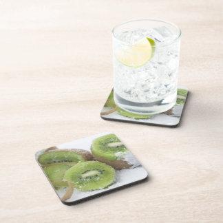 Snowy Kiwi Drink Coaster