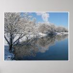 Snowy Lake Sacajawea Print