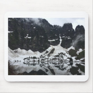 Snowy Lake T-Shirt Mouse Pad