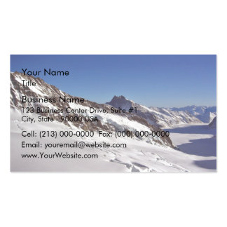 Snowy Landscape and blue skies Business Cards