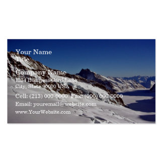 Snowy Landscape and blue skies Business Card