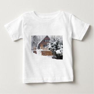 snowy landscape baby T-Shirt