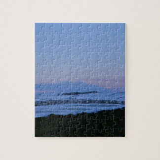 Snowy Landscape In Yorkshire At Dawn Jigsaw Puzzle