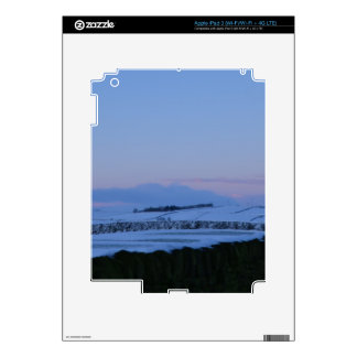 Snowy Landscape In Yorkshire At Dawn iPad 3 Decal