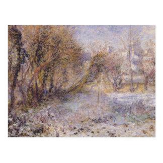Snowy Landscape Postcard