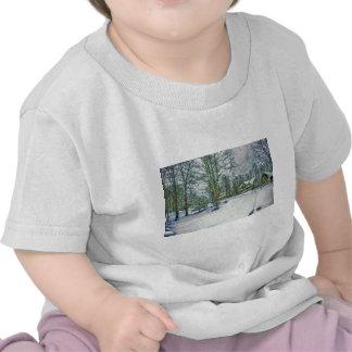 Snowy Landscape T-shirts