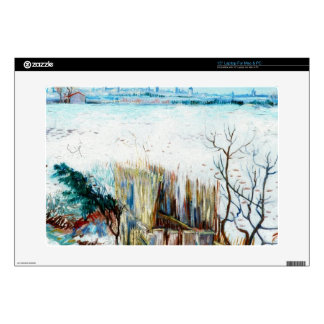 """Snowy Landscape with Arles in the Background Skin For 15"""" Laptop"""