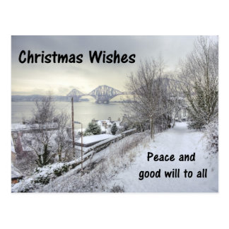 Snowy Lane Post Cards