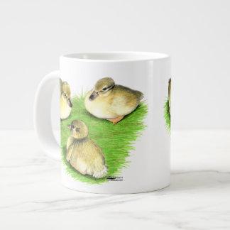 Snowy Mallard Ducklings 20 Oz Large Ceramic Coffee Mug