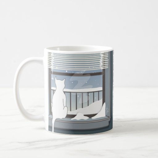 Snowy Morning (from The Pride Cartoon™) Classic White Coffee Mug