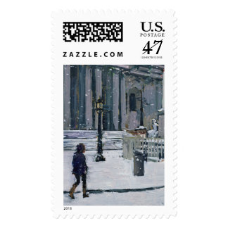 Snowy morning St. Paul's Cathedral 2009 Postage