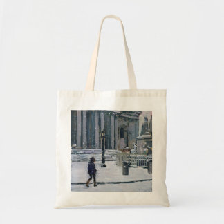 Snowy morning St. Paul's Cathedral 2009 Tote Bag