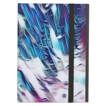 Snowy Mountain Abstract Case For iPad Air