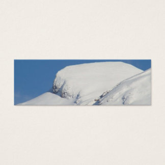 Snowy Mountain Business Cards