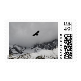 Snowy Mountain Eagle Postage