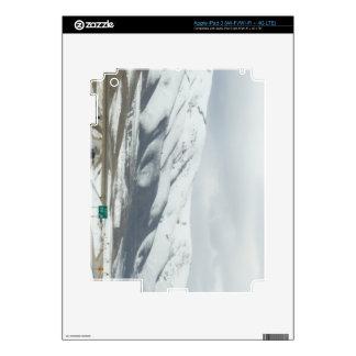 snowy mountain iPad 3 skin