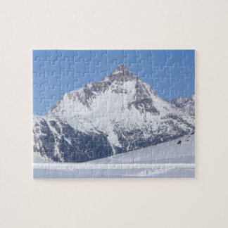 Snowy mountain - Puzzle