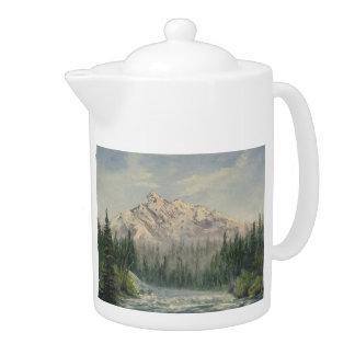 Snowy Mountain Teapot