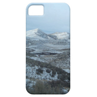 Snowy Mountain Top Breath Taking High Rise View iPhone SE/5/5s Case