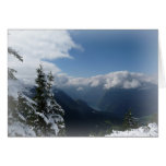 Snowy Mountains Card