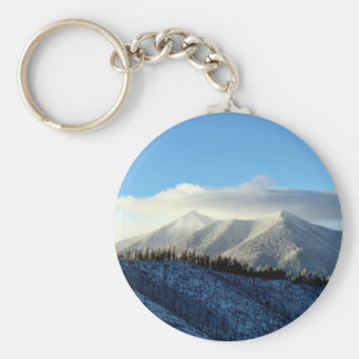 Snowy Mountains Key Chains