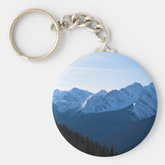 Snowy Mountains Keychain