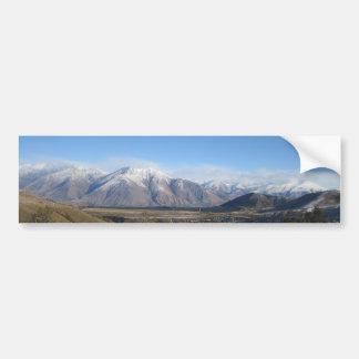 Snowy Mountains photo bumper sticker