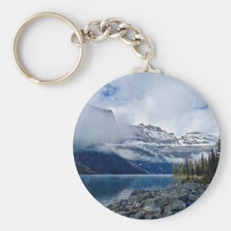 Snowy Mountains Scenic Keychain
