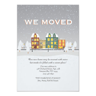 Snowy Moving Announcement