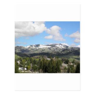 Snowy Mt. Diablo Postcard